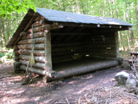 Trucs rando for Camp en bois rond